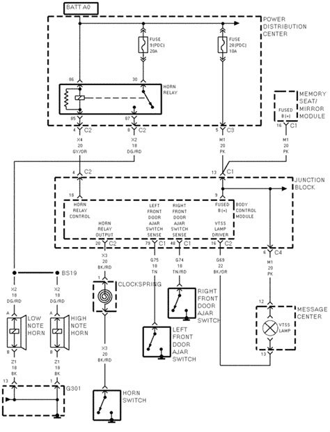 1998 Caravan Wiring Schematic wiring diagrams for locktronics alarm on a 1998 dodge caravan