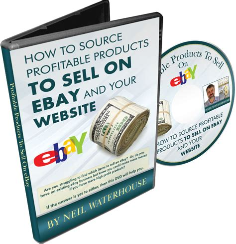 sell on ebay how to source profitable products to sell on ebay dvd neilwaterhouse com neilwaterhouse com
