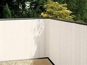 Sichtschutz Balkon Weiß : balkonsichtschutz weiss 90x300 balkonverkleidung balkon sichtschutz kunststoff ebay ~ Markanthonyermac.com Haus und Dekorationen