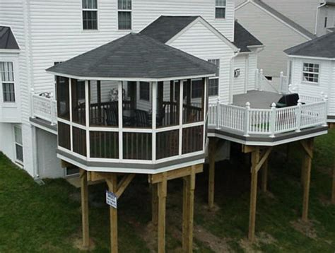 contractors build back front porch builders cost