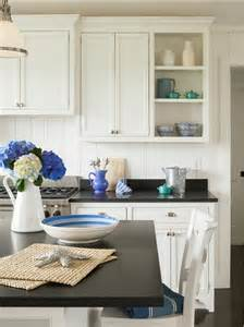 White Kitchen Decor Ideas Kitchen Decor Ideas Kitchen With Blue White Decor Kitchen Kitchendecor Blue Whitedecor
