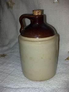 Vintage Whiskey Jug, Moonshine Jug, Drip Ware Pottery Jug ...