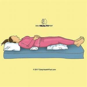 best sleeping position 9 positions to help improve your With best sleeping position for back pain