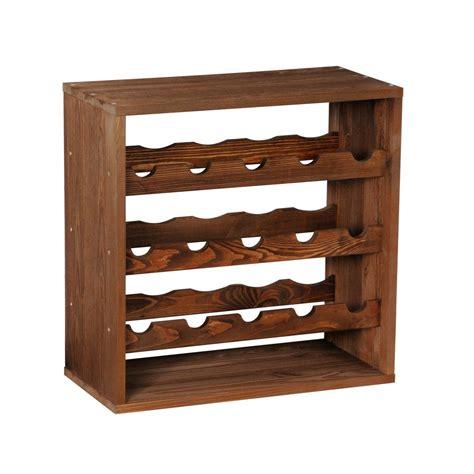 wooden wine rack wooden wine rack system cube 50 tobacco winerack plus co uk