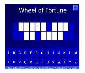 8 free jeopardy templates free sample example format With online wheel of fortune template