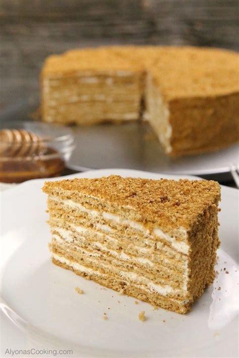 russian store copycat honey cake recipe medovik alyona