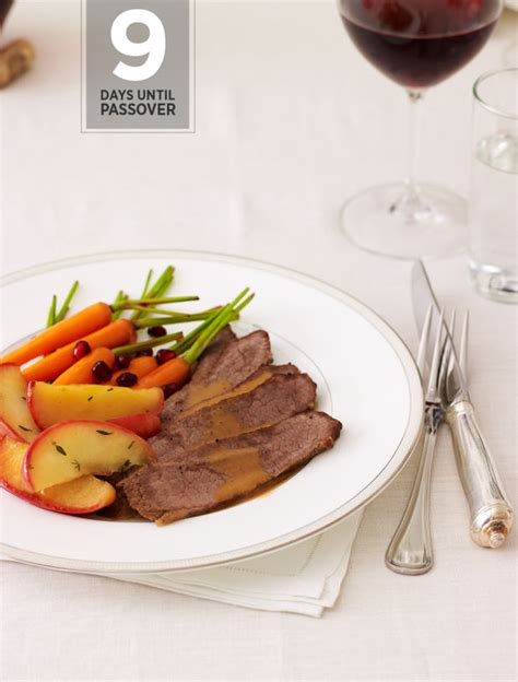 9 Days Until Passover 20 Marvelous Meat Main Dishes For