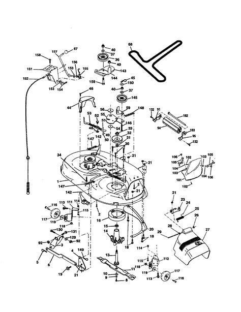 Poulan Mower Wiring Diagram by Poulan Pro Mower Wiring Diagram