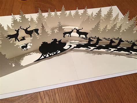 popup karte winterwonderland weihnachtszeit designblog