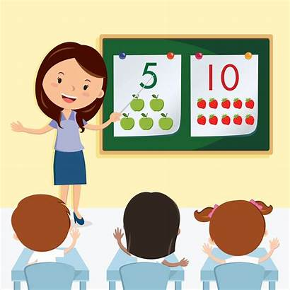 Teacher Clipart Teaching Class Classroom Students Graphic