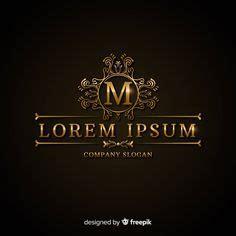 golden elegant logo template  vector  vector
