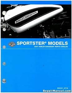 2007 Harley Davidson Xl Sportster Motorcycle Parts Manual