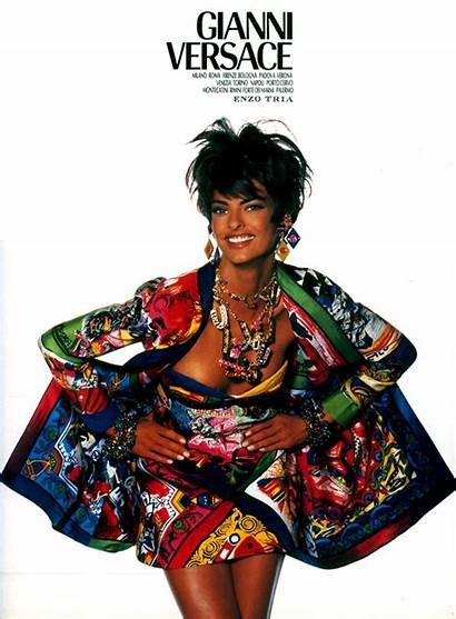 Versace Gianni 1990s 1990 Fashions 90s Evangelista