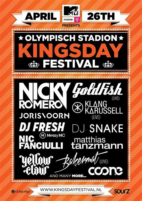 mtv mobile mtv mobile presents kingsday festival mtv nederland