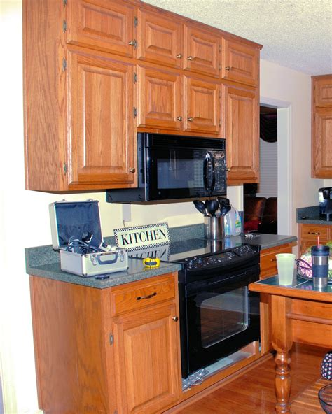 over the range microwave cabinet southern inspirations my quot fake quot kitchen microwave hood