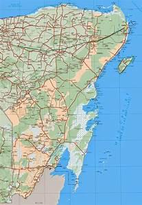 Mapas de Cancun México MapasBlog