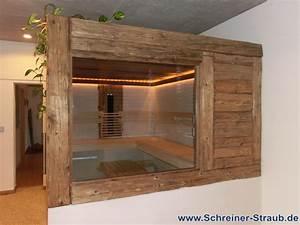 Bett Aus Alten Balken : badezimmer sauna sauna im eigenen bad schreiner straub ~ Bigdaddyawards.com Haus und Dekorationen