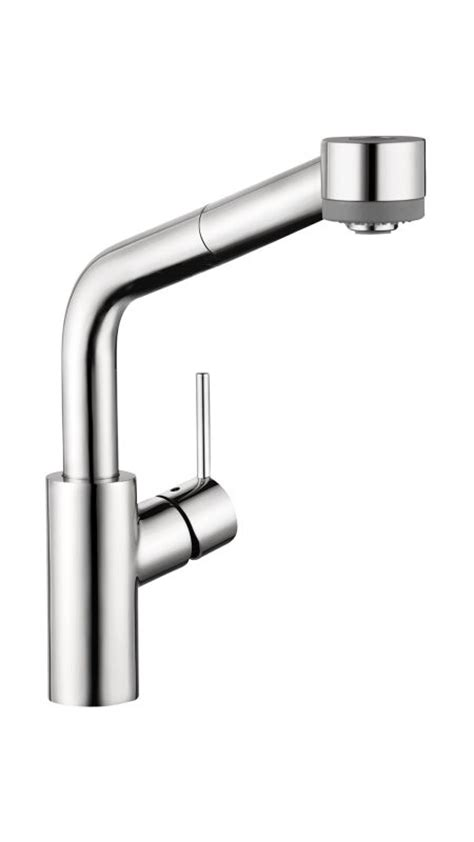 sink sprayer diverter problems hansgrohe 04247000 chrome talis s pull kitchen faucet