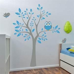 Wandtattoo Baum Kinder : baum mit eule wandtattoo ~ Whattoseeinmadrid.com Haus und Dekorationen