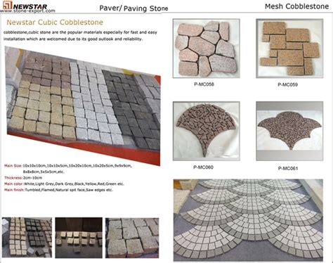 type paving granite paving granite cobblestone