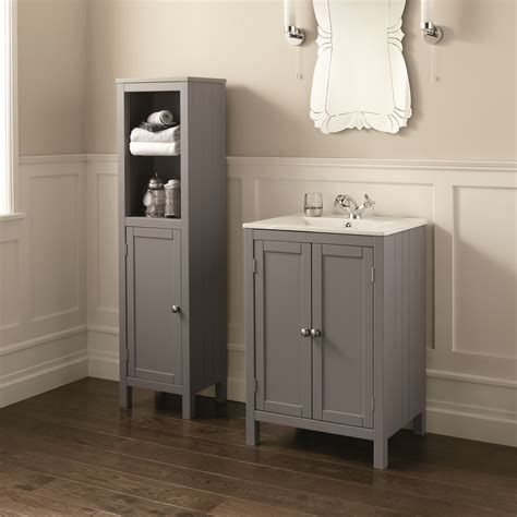 etienne vanity unit basin dove grey 600