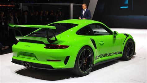 2019 Porsche Gt3 Rs by 2019 Porsche 911 Gt3 Rs Preview
