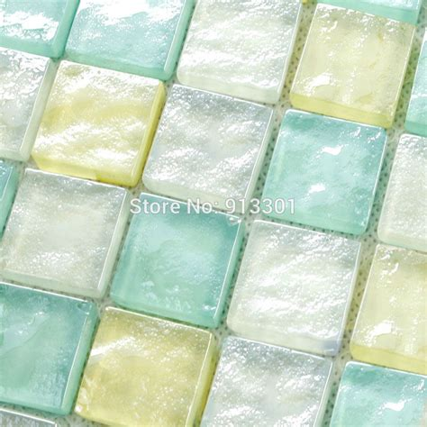 glass tile sheets stained glass mosaic cheap