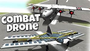 Kerbal Space Program - Combat Drone & AC130 / 65 - YouTube
