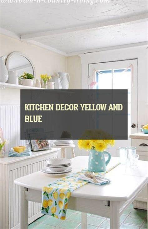 kitchen decor yellow and blue yellow kitchen decor