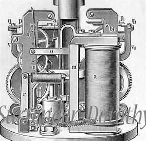 Electric Light Carbon Arc And Mercury Vapor Lamps Chart 1906