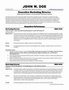 Director Resume Sle by Exle Of A Cv Mod 232 Les De Cv Cv