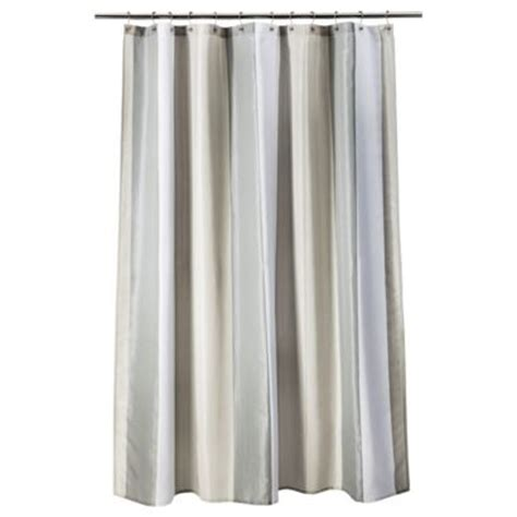 Grey Striped Curtains Target by Threshold Stripe Shower Curtain Gray Moving