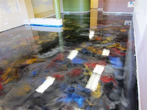 Residential Metallic Epoxy Flooring ? Home Ideas
