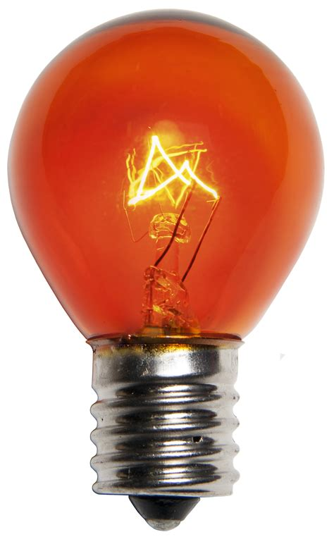 patio  party light bulbs  transparent amber