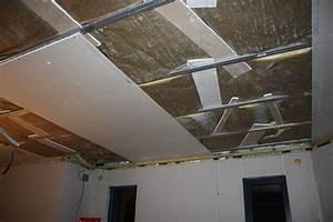Faire Un Faux Plafond : faux plafond acoustique placo menuiserie image et conseil ~ Premium-room.com Idées de Décoration