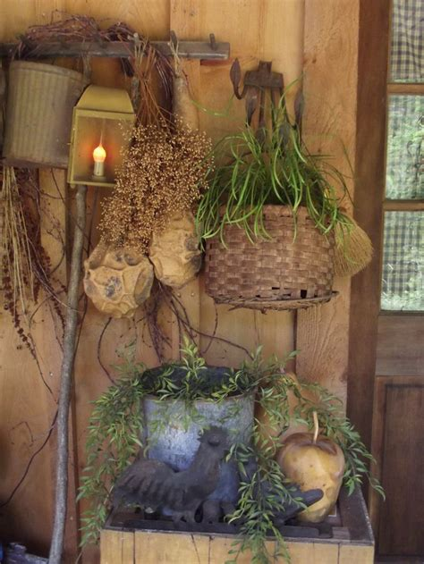 Best Images About Primitive Porches Pinterest