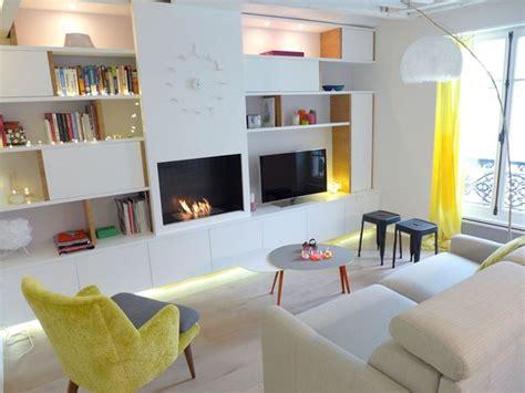 salon cuisine design aménagement salon design avec cuisine ouverte côté maison