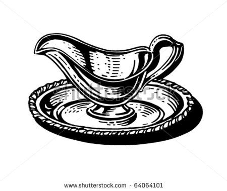 Gravy Boat Drawing by Gravy Boat Clipart