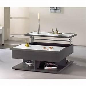 Table Basse Tablette Relevable : table de salon amovible maison design ~ Teatrodelosmanantiales.com Idées de Décoration