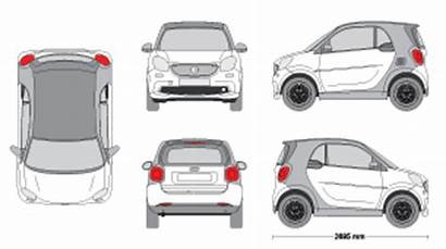 Clipart Templates Vehicle Smart Mr Fortwo Gallop