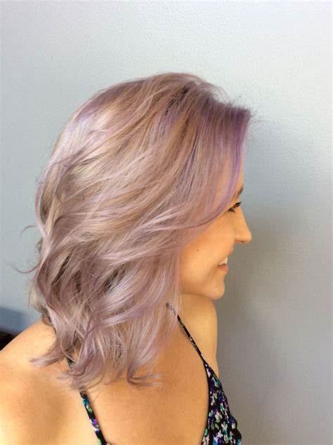 17 Best Ideas About Light Purple Hair On Pinterest