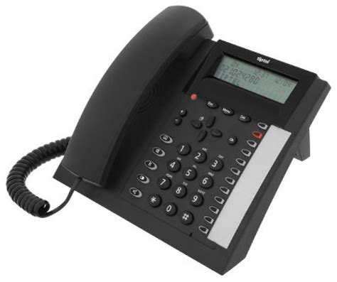 tiptel  corded office telephone    pmc telecom