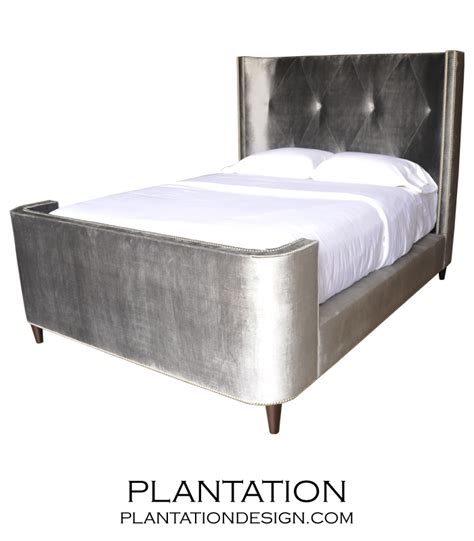 thompson bed footboard plantation