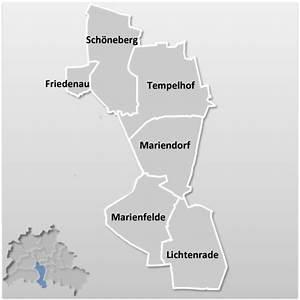 Rote Karte Berlin Lichtenberg : stadtbezirk tempelhof sch neberg berlin berlinstadtservice ~ Orissabook.com Haus und Dekorationen