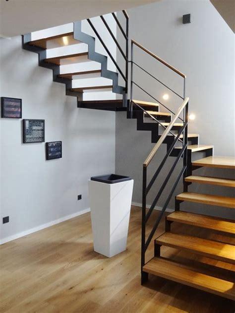 treppe stahl holz moderne stahl holz treppe vs treppensysteme hausbau treppen in 2019 treppe