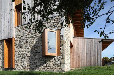 la cuisine d agnes maison individuelle et bois contemporain façade