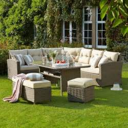 moreton casual dining garden furniture set wyevale