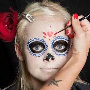 Halloween Schmink Bilder : halloween kinder schminken d a de los muertos make up ~ Frokenaadalensverden.com Haus und Dekorationen