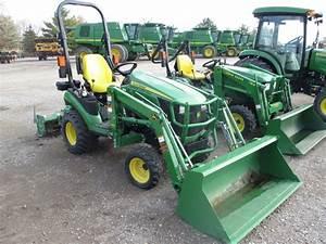 2013 John Deere 1025r - Compact Utility Tractors