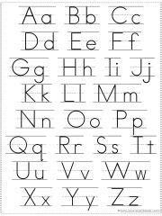 choose   alphabet chart printable  images